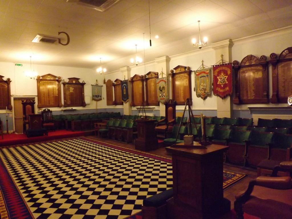 Gosport Masonic Meeting Room
