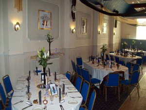 Clarence Suite Dinning seating