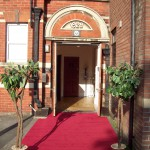 Clarence Suite Entrance