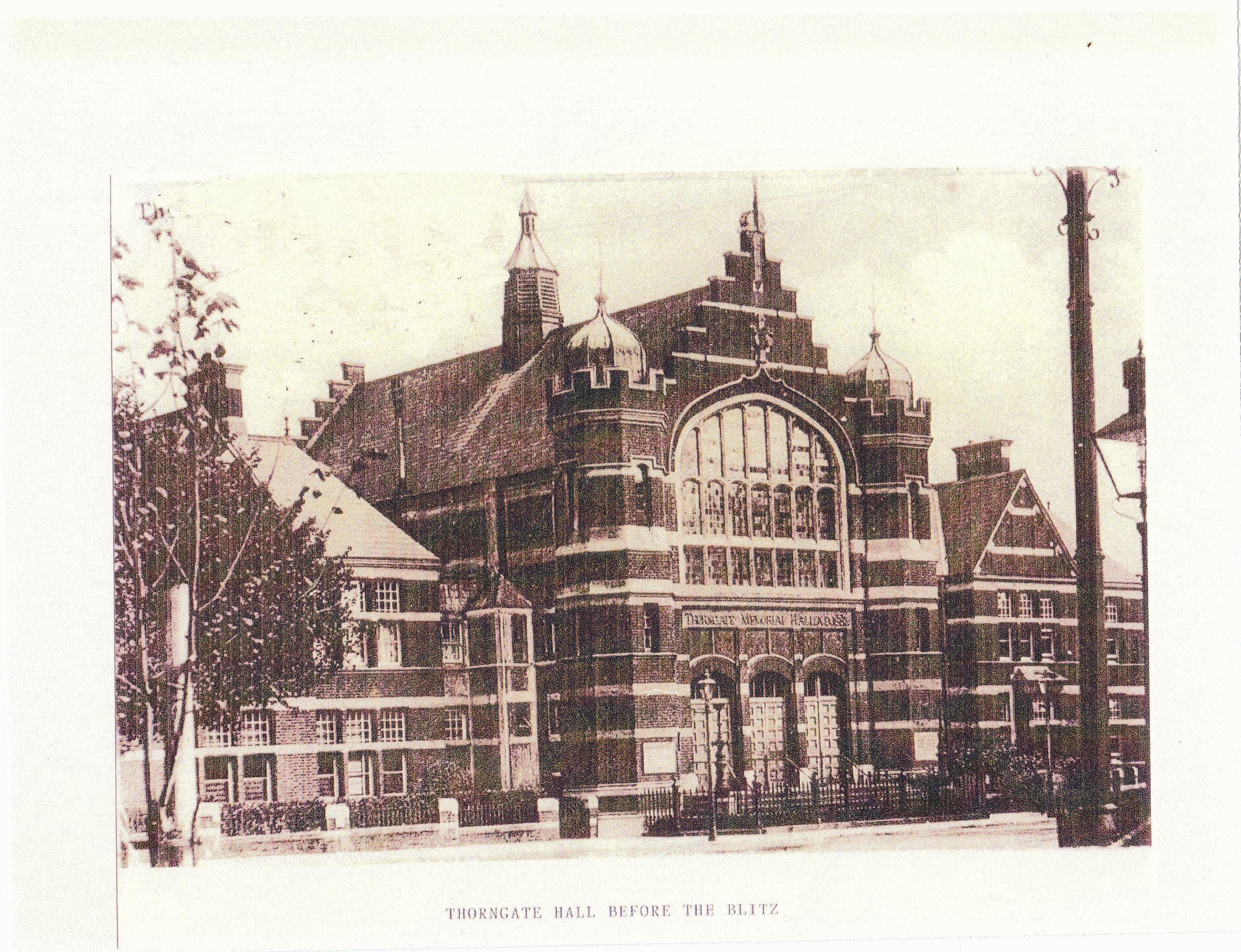 Original Thorgate Hall